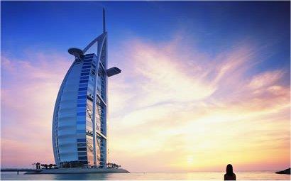 Luxusní hotel Burj al-Arab